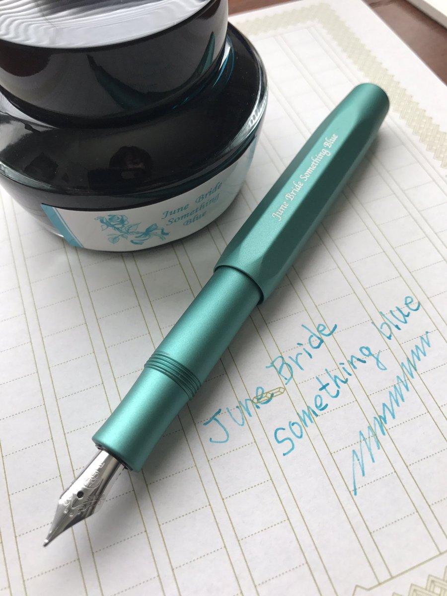 こんにちは!今日も暑い日になりました。今から休憩時間とさせて頂きます!後ほどインスタグラムで昨日、メルマガで発表させて頂いた新しいオリジナル万年筆を映像でご紹介致しますm(_ _)mお陰様で凄い反響です! https://t.co/Gu7QrfEvJN