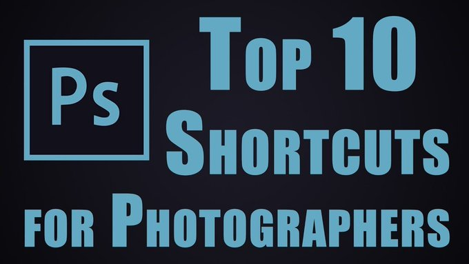 10 MUST know Photoshop Shortcuts for Photographers