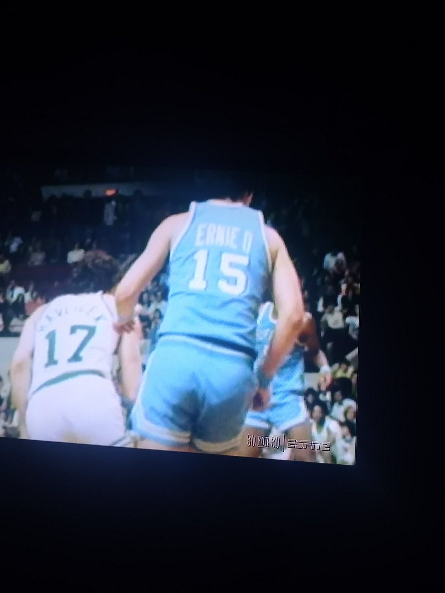 """Mike Monaghan on Twitter """" UniWatch Ernie DiGregorio used to have"""