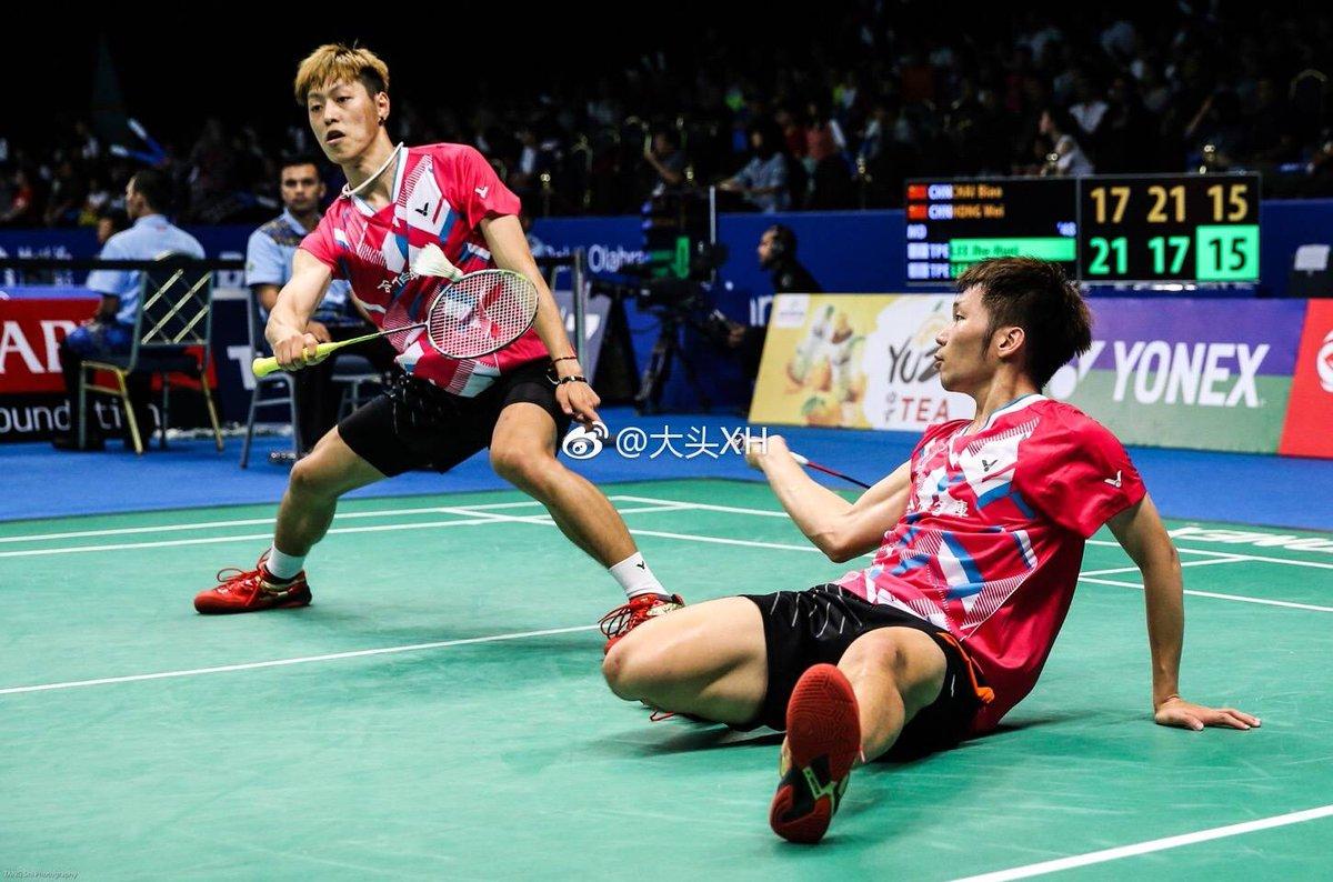 """IG Badminton Now on Twitter """"Lee Jhe Huei Lee Yang Cr Shi Tang"""
