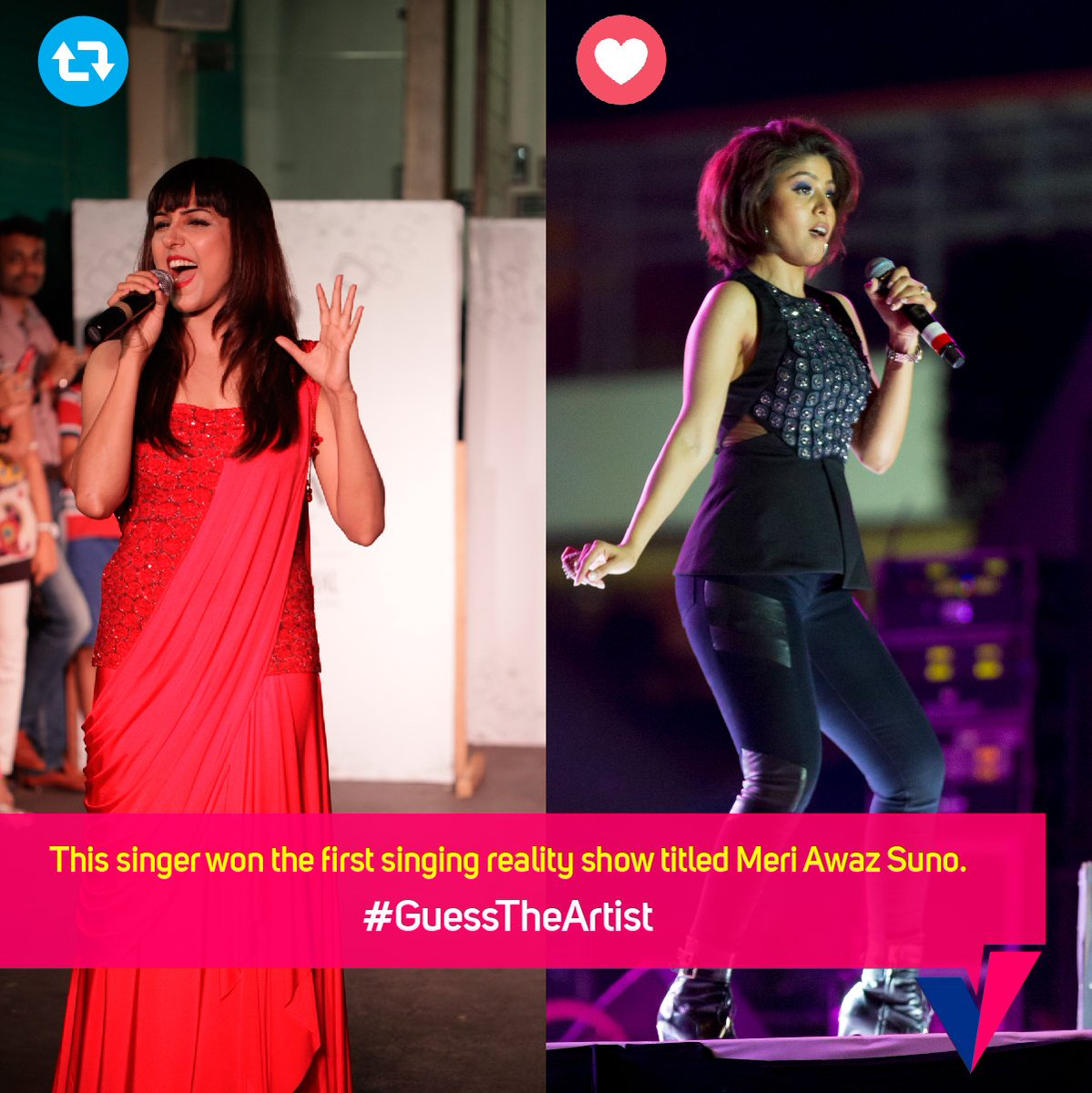 Can you #GuessTheArtist? RT for @neetimohan18 and Like for @SunidhiCha...