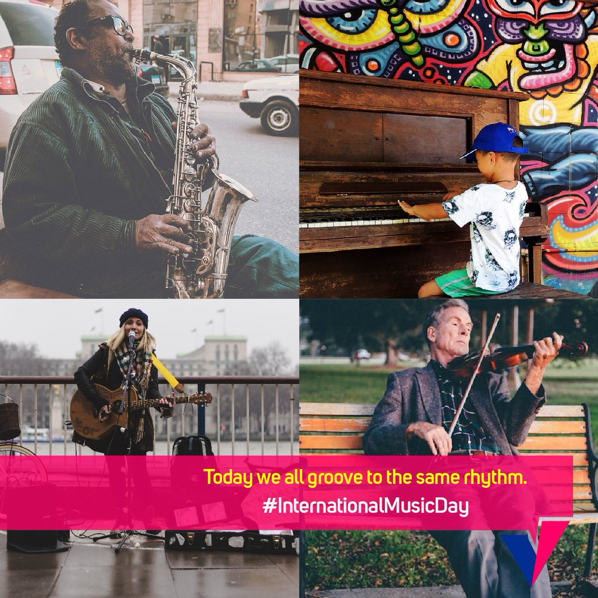 No matter what kind of music you like, today let's bring the music com...