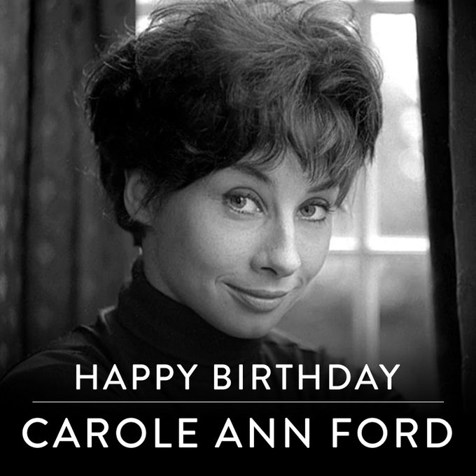 A very Happy Birthday to the first companion - Carole Ann Ford