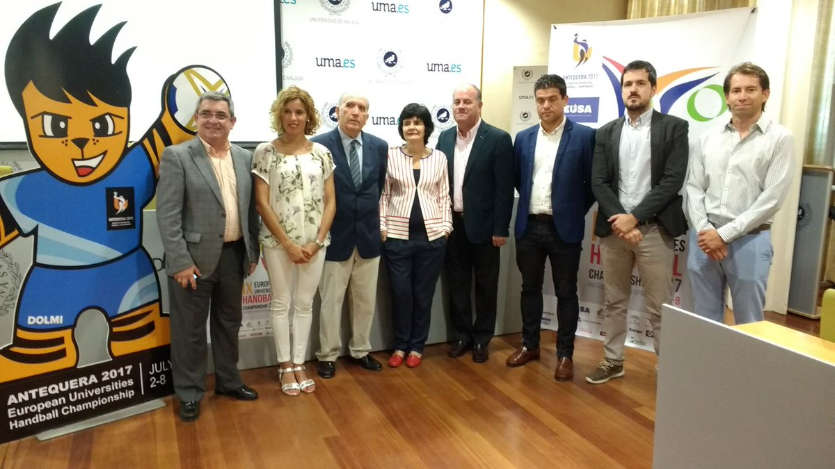 We are glad to say that #EUSAHandball2017 is officially open. We are ready to star playing #handball  <br>http://pic.twitter.com/DwjFDqBNrQ
