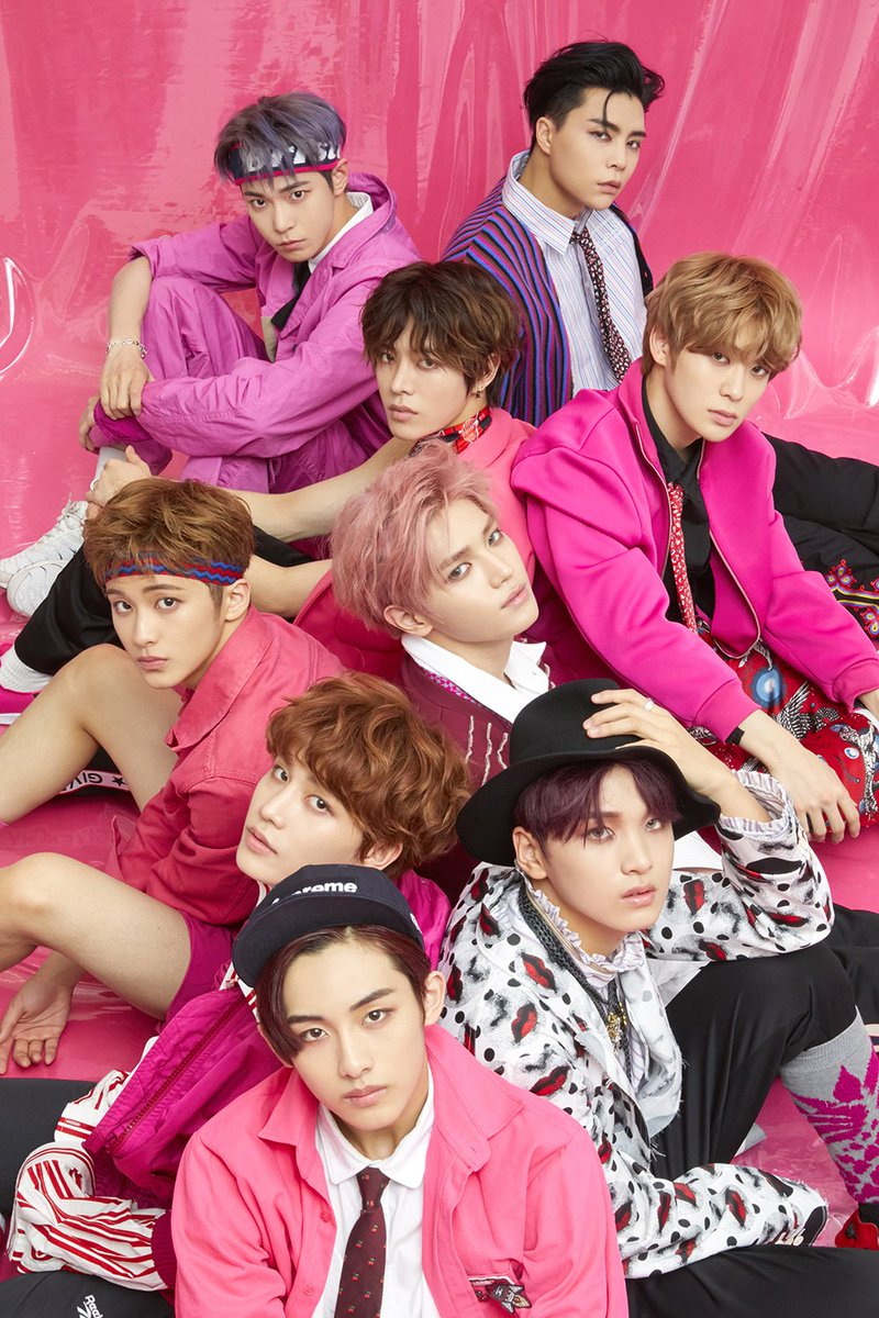 #NCT127(@NCTsmtown_127) becomes the first K-Pop group to be selected as Apple Music's 'New Artist of the Week.'