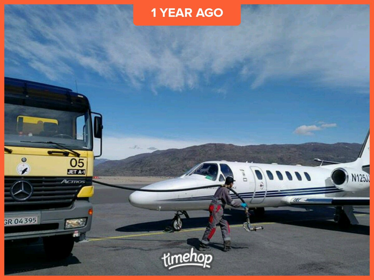 Fuel stop in Narsarsuaq, Greenland en route from the UK to South Carolina, USA  #FerryPilot #AircraftDelivery #Cessna #Citation<br>http://pic.twitter.com/sXEFLaeti6
