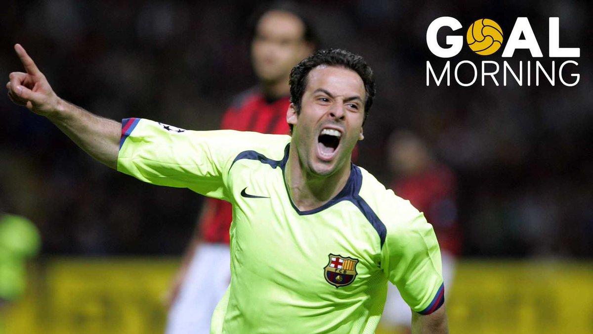 G⚽️AL MORNING!!!  Oh, là, là, @Ludovic_Giuly! ¡Qué golazo hiciste contra el Milan!
