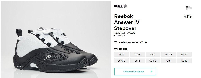 reebok answer 11 cyan