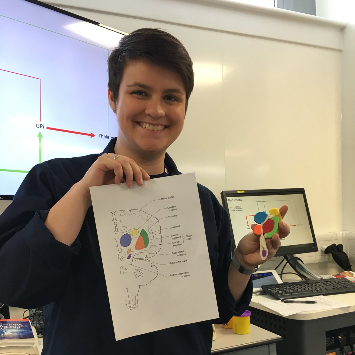 Dr Kat Sanders A Twitter Added Two New Components To Playdoh Basal