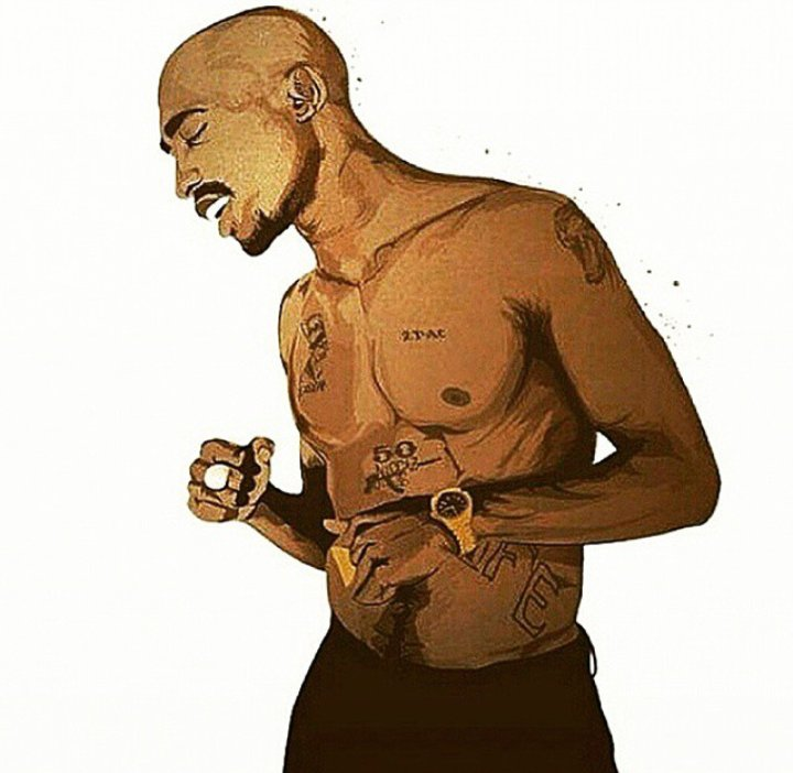 G.O.A.T #MyFavouriteRapper Tupac Amaru Shakur  #46