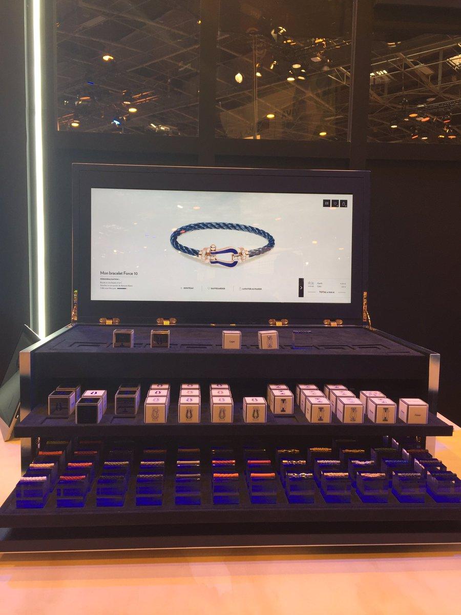 Testing FRED Force 10 bracelet customization #fred @supper_paris @LVMH @VivaTech<br>http://pic.twitter.com/GRv9neKZ1w