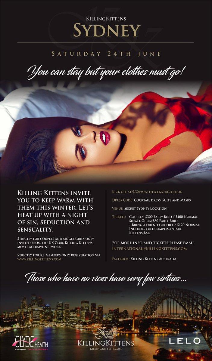 Killing Kittens On Twitter Kk Sydney Is Going Monthly Auskilling Letsgetnakedaustralia Register On Https T Co G7w6zr153r