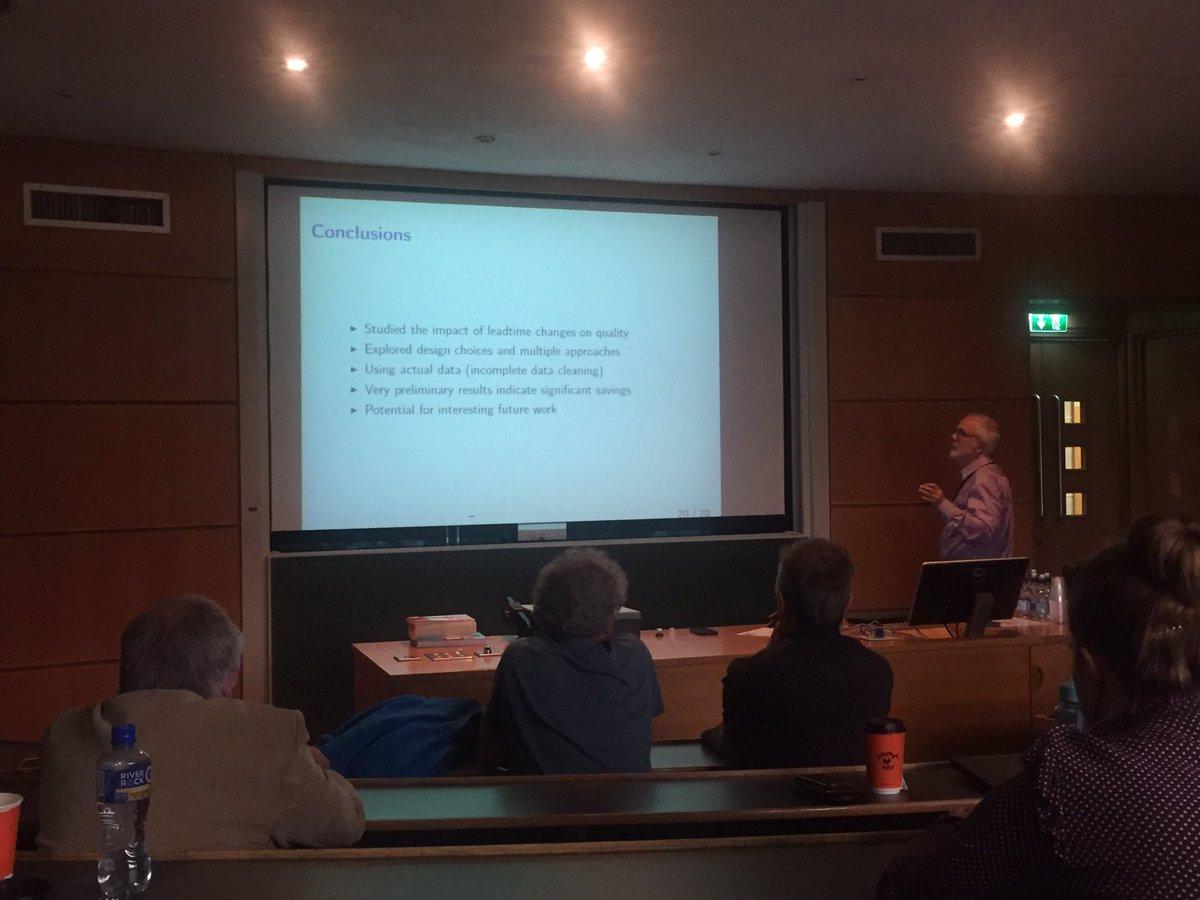 2017 Irish Study Group solving industry sponsored problems- energetic and engaging presentations #ESGI128 #ResearchImpact @MACSIMaths<br>http://pic.twitter.com/Op41Xnweoa