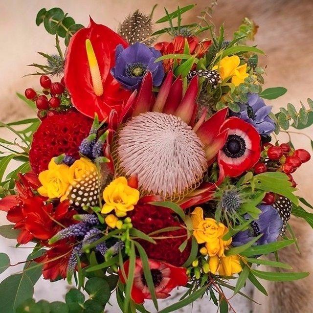Фото цветов экзотических в букете
