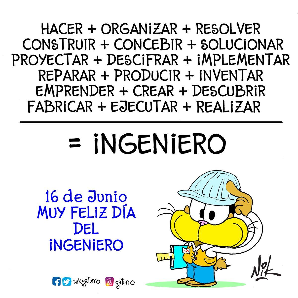 #BuenViernes Feliz Día del Ingeniero #FelizDiaDelingeniero #DiaDelInge...