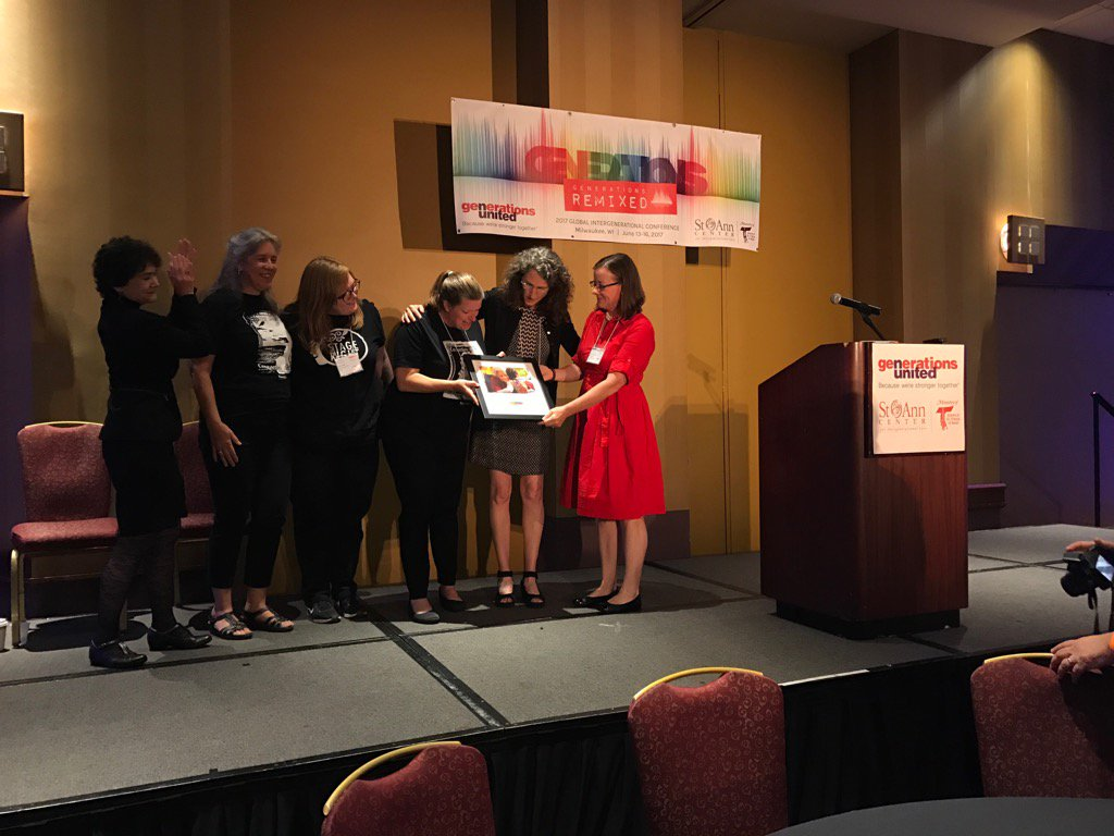 So impressed with what's possible when we #standup! @sweetreaders @GensUnited @TimeSlipped #gensunited17 https://t.co/Rt3dEHLtMj