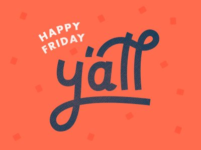 Happy #Friday! Have a good weekend!