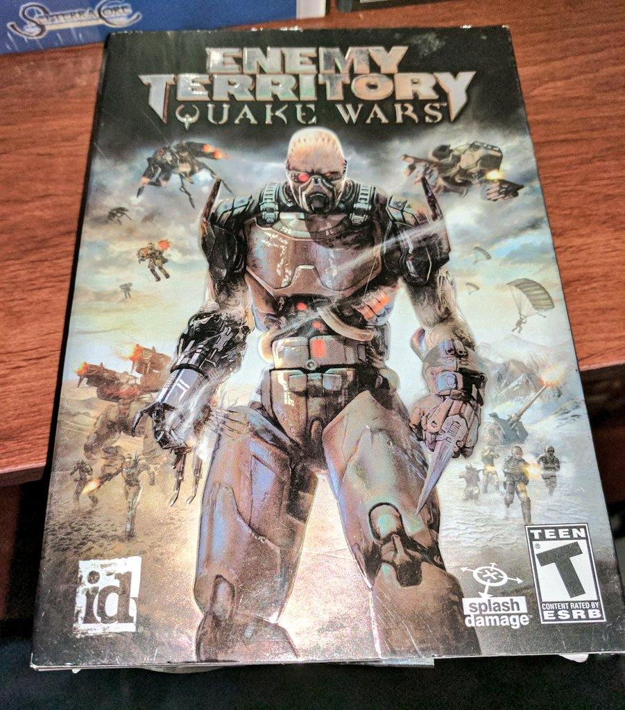 enemy territory quake wars торрент