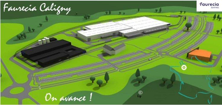 Découvrez le site de @FaureciaCaligny en vidéo ▶ https://t.co/sz3kfix1ip Accélérateur d'#innovation pour la #voiture de demain ! #Normandie https://t.co/irmxJ08gio