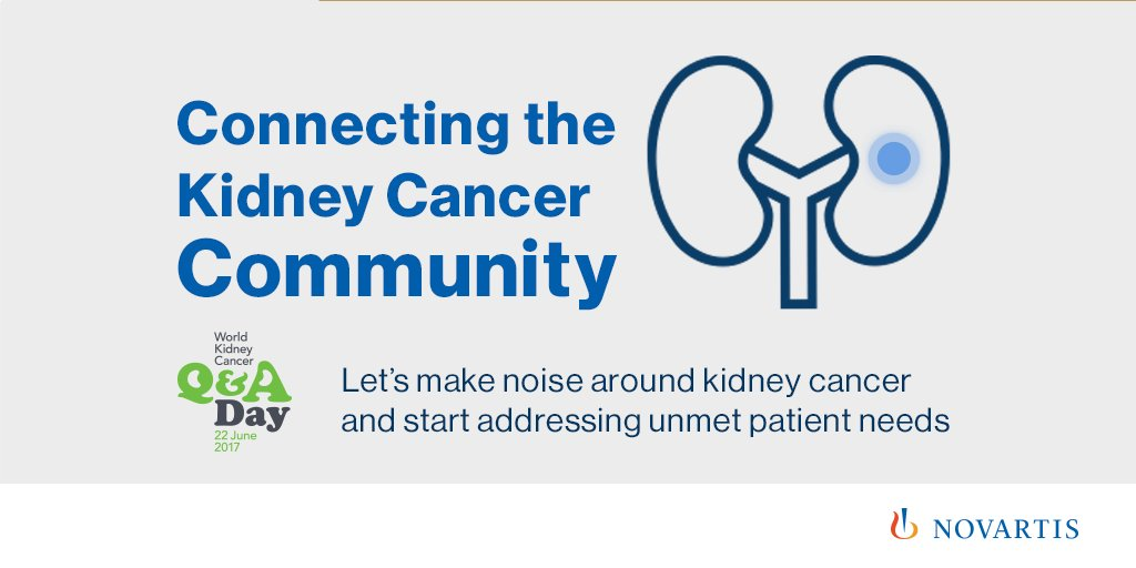 Novartis Cancer On Twitter We Are Collaborating Globally To Raise Awareness For Kidneycancer Patients Https T Co Nbmm1qmuyy