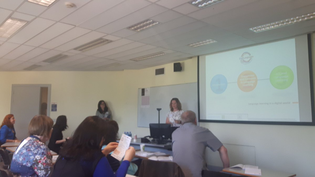 @DigiLanguages #StudyAbroadConf digital support for transition to mobility programmes @ForumTL