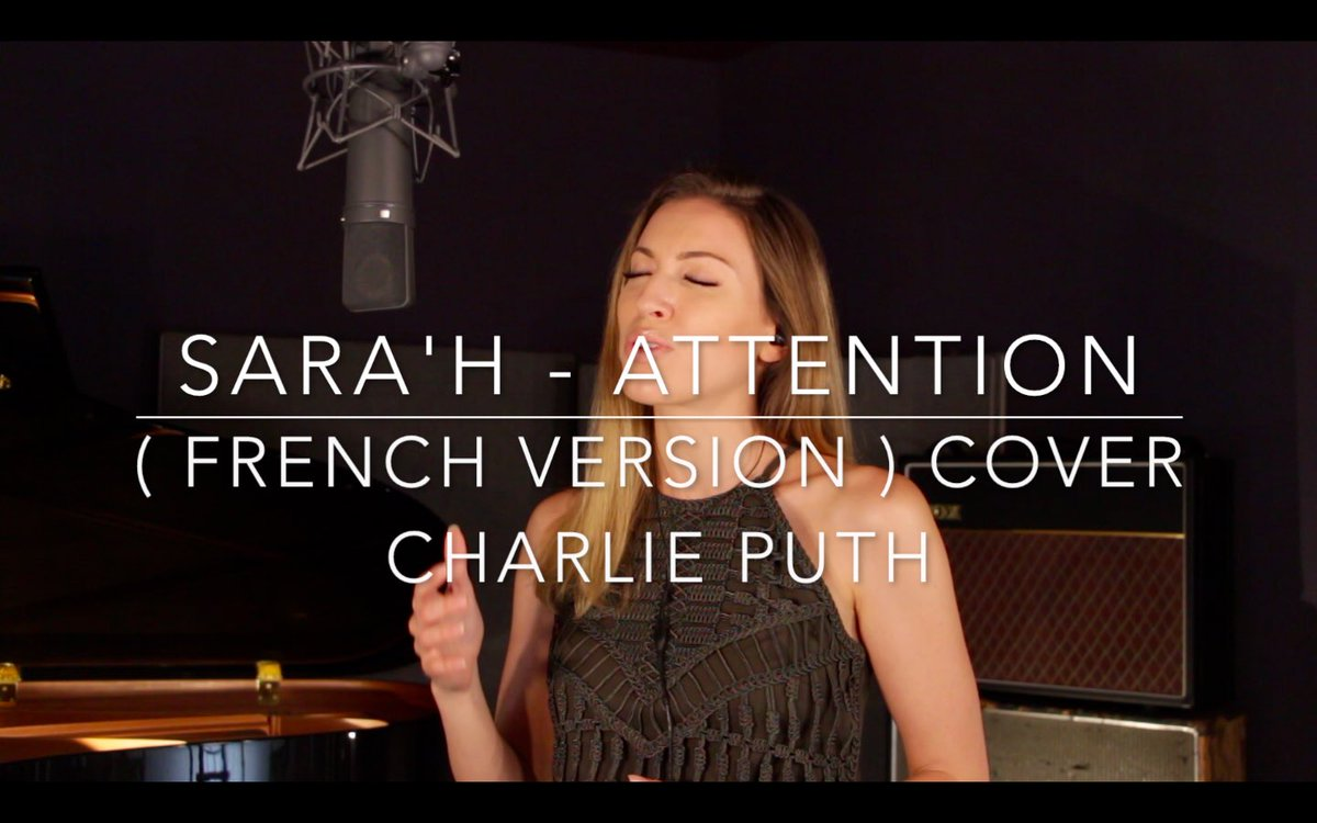 Rendez vous à 18h  #Newcover #Attention #CharliePuth #Frenchversionpic.twitter.com/lsdNVKojLY