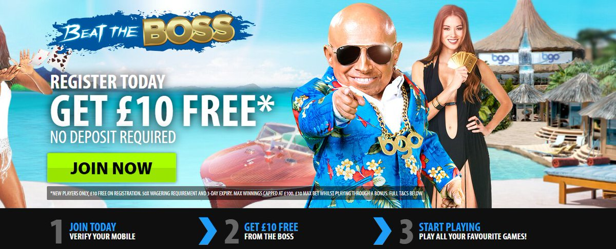bgo casino no deposit bonus