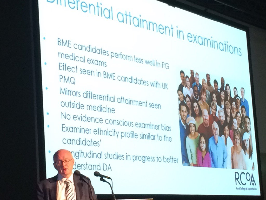 College very aware of differential attainment in exams but nobody knows why #CTBelfast2017 https://t.co/0gYs6Fw5yN