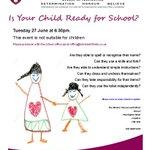Is Your Child Ready for School? Evening workshop prospective Reception parents  Pre-book office@minsterinfants.co.uk https://t.co/OAsyzfrbux