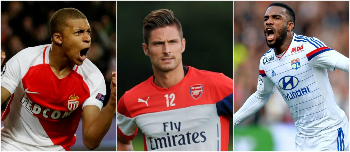 Arsenal&#39;s ready to release Giroud to land either #mbappe or #lacazette from #Lyon (LES) #AFC #giroud #asmonaco #TransferNews #Transfers<br>http://pic.twitter.com/bvK281bKA6