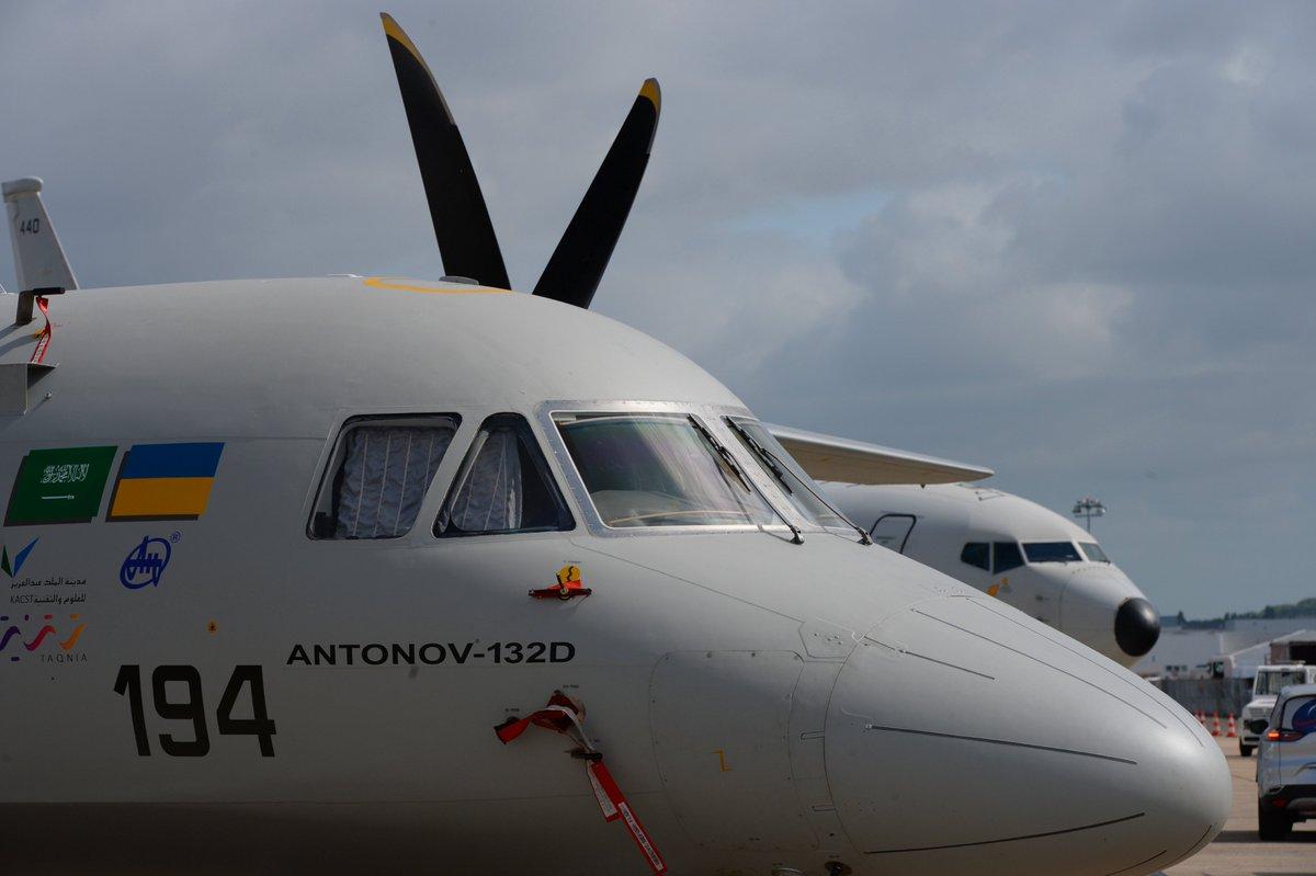 تدشين أول نموذج لطائرة انتونوف 132 صناعة سعودية اوكرانية مشتركة - صفحة 2 DCcSegSXUAAztGK