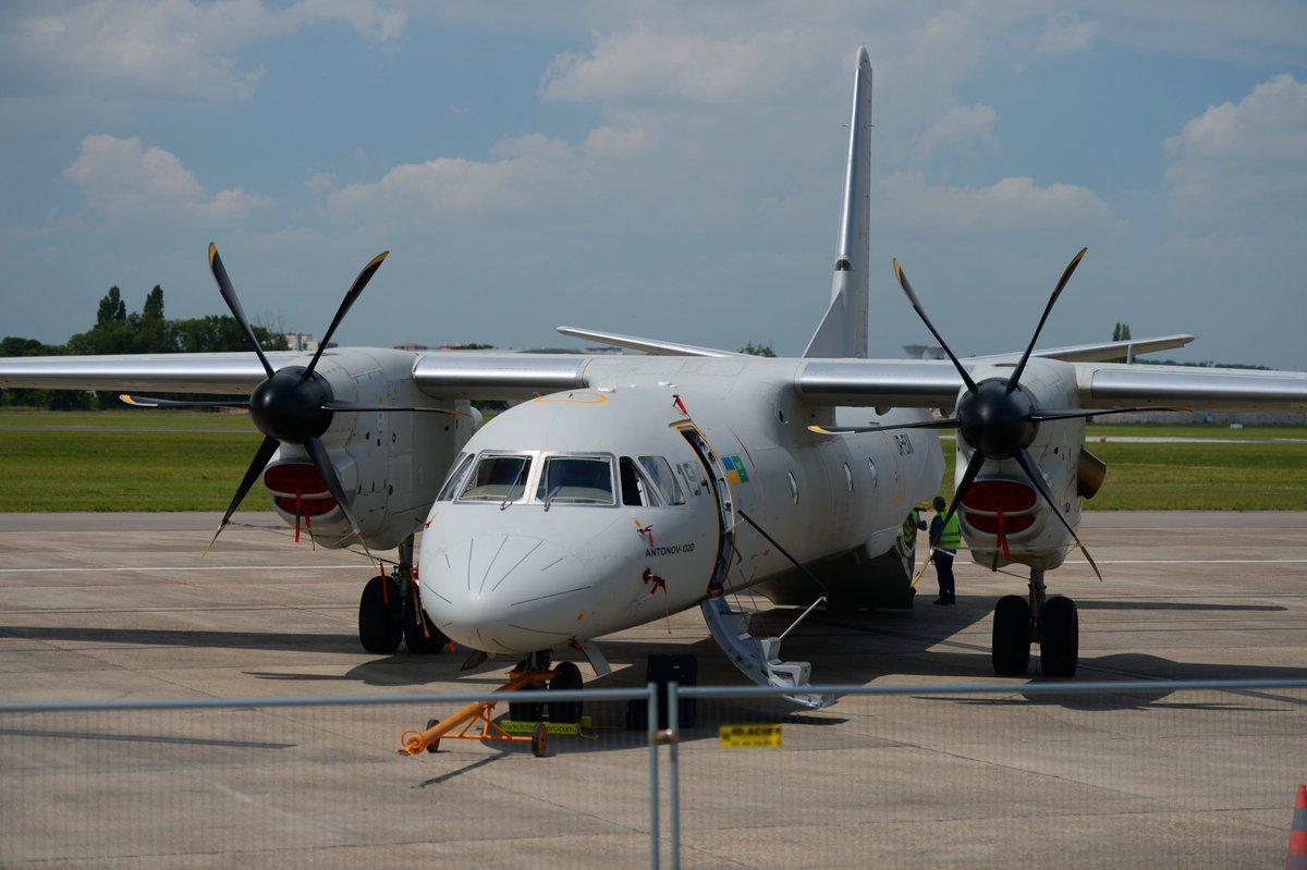 تدشين أول نموذج لطائرة انتونوف 132 صناعة سعودية اوكرانية مشتركة - صفحة 2 DCcSfRGWsAAWP9i