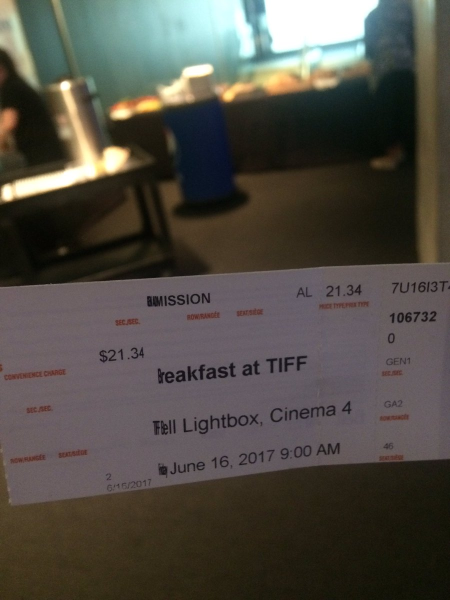 At the @TIFF_Industry Breakfast. Here is an article on the Toronto film industry w/ #Lyon #Gravestock #Alosinac.    http:// torontofilmreview.blogspot.ca/2017/02/toront o-film-industry-resources.html?m=1 &nbsp; … <br>http://pic.twitter.com/g8hY5mJSIR