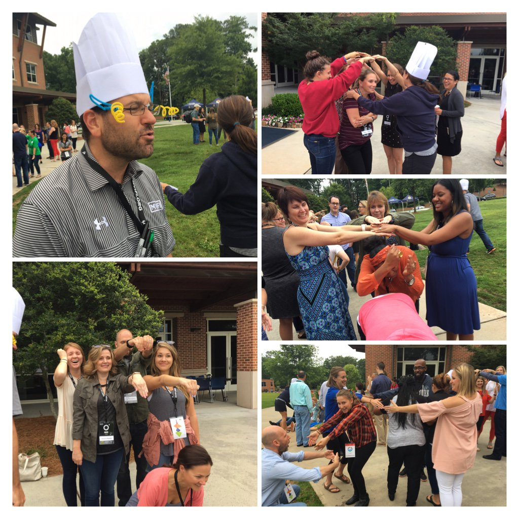 """Learning to role-play prototype with new MVIFI spark """"Apply-ances."""" Teams make a working kitchen appliance with...themselves #fuse17 https://t.co/fuVYJfCCCV"""