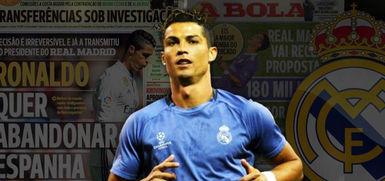 Dove giocherà Cristiano Ronaldo? Addio Real Madrid?