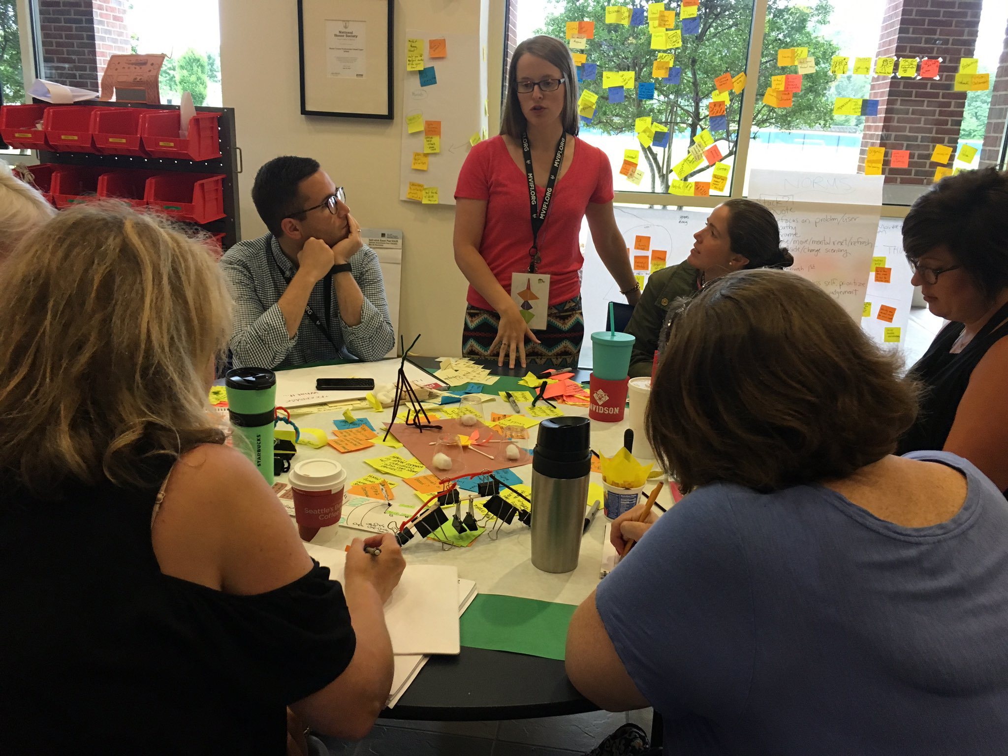 Going back to our user for more feedback, clarification, and further prototype iteration #fuse17 https://t.co/l2CL6Te0bG