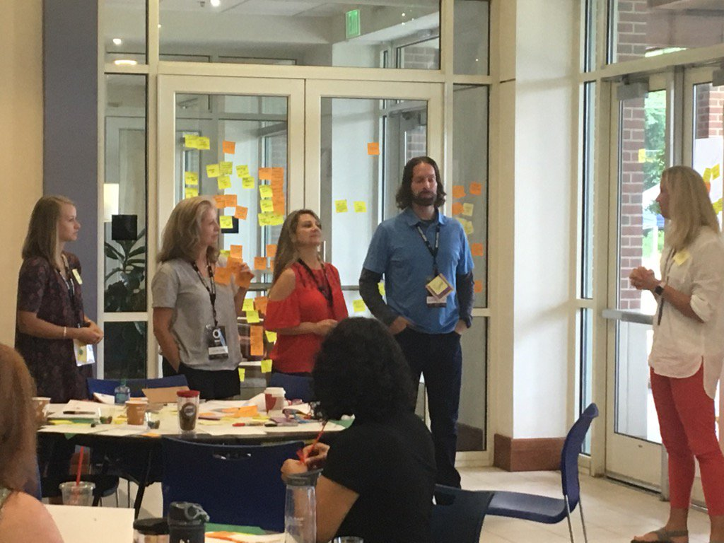 Prototyping an unconference for GFMA #fuse17 @kellybkelly2001 https://t.co/MaWh8n1X6R