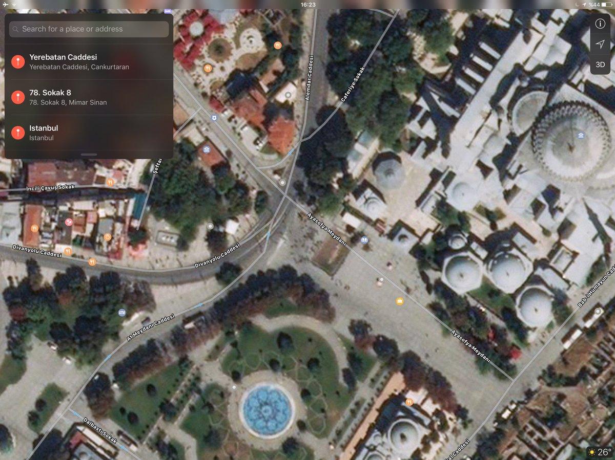 M Serdar Kuzuloğlu On Twitter Google Maps Uygulamasının Istanbul