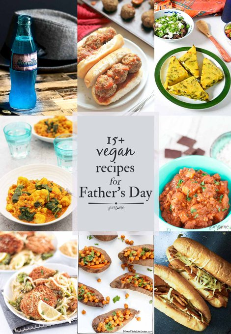 15+ Manly Mouth-watering Vegan Recipes for Father's Day