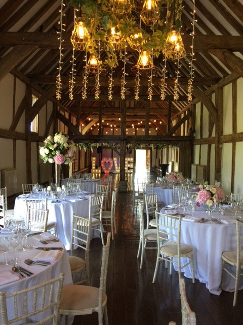 Few shots taken inside the beautiful #tithebarn from our recent #weddingshowcase Open Evening held @LoseleyPark @Loseleyevents