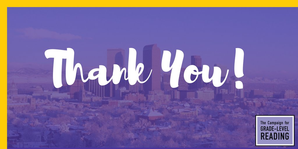 To the Denver Host Committee, we are so grateful to you for giving us an experience we'll never forget! #GLRWeek https://t.co/nIy5rz2swM