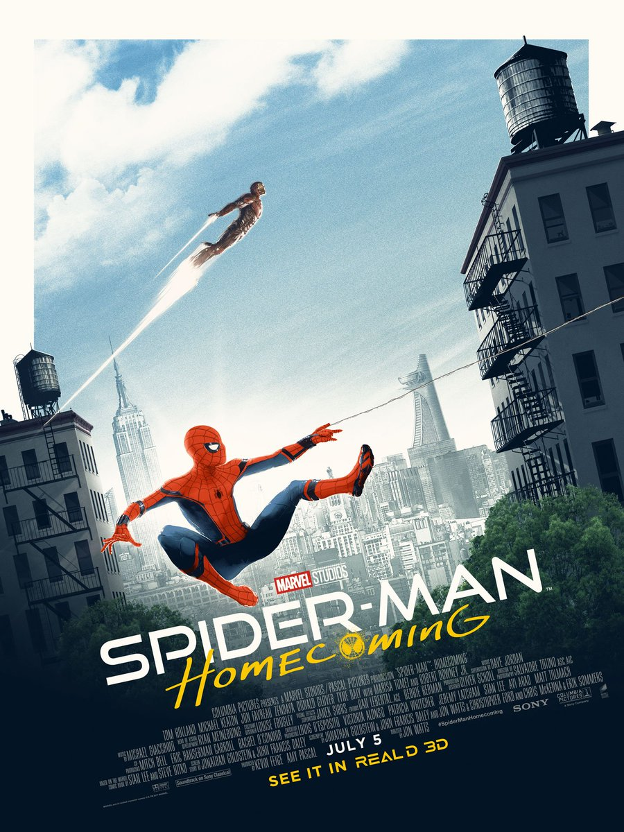 Matt Ferguson's Astonishing SPIDER-MAN: HOMECOMING Poster Is By Far The Best Yet