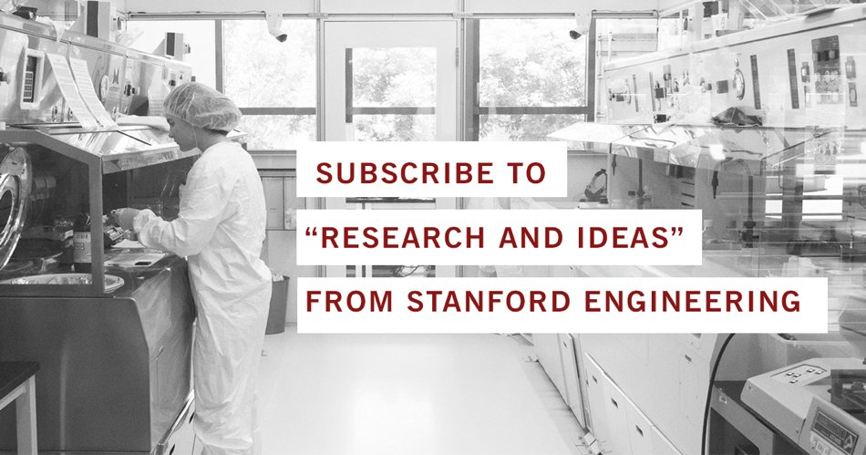 Stanford Engineering on Twitter: