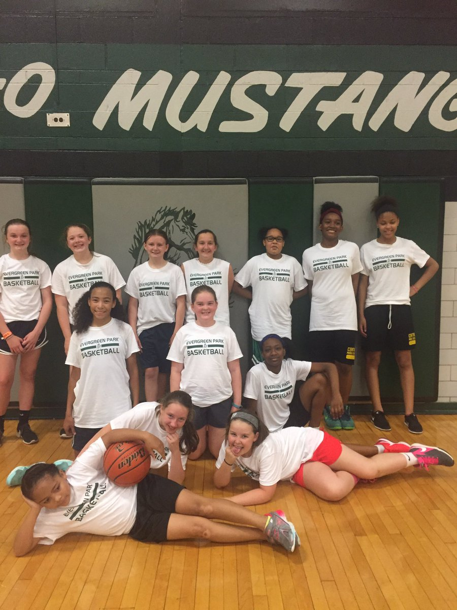 Little Lady mustangs camp! #epchs