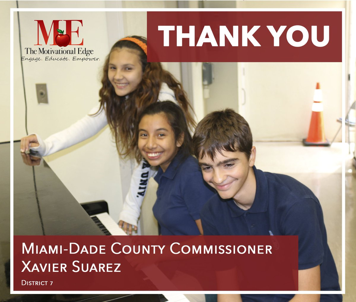 Thanks to @XavierLSuarez1, @PonceExplorers #middleschool #students #benefit from #lyricalexpression programs #afterschool. #musiced #Miami<br>http://pic.twitter.com/0HW5GirH7N