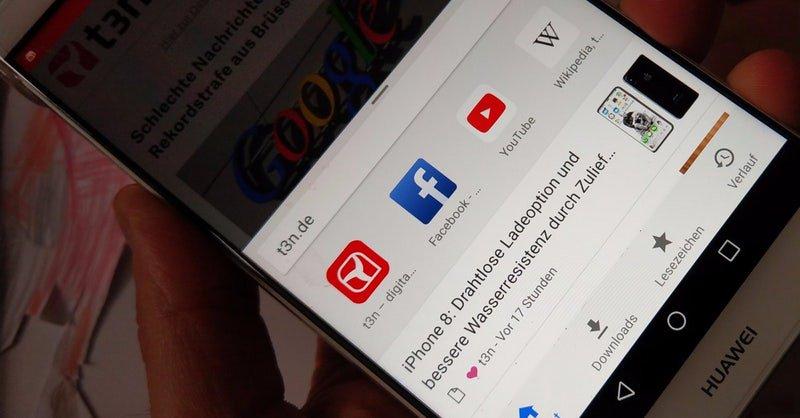 Google chrome news - ef61