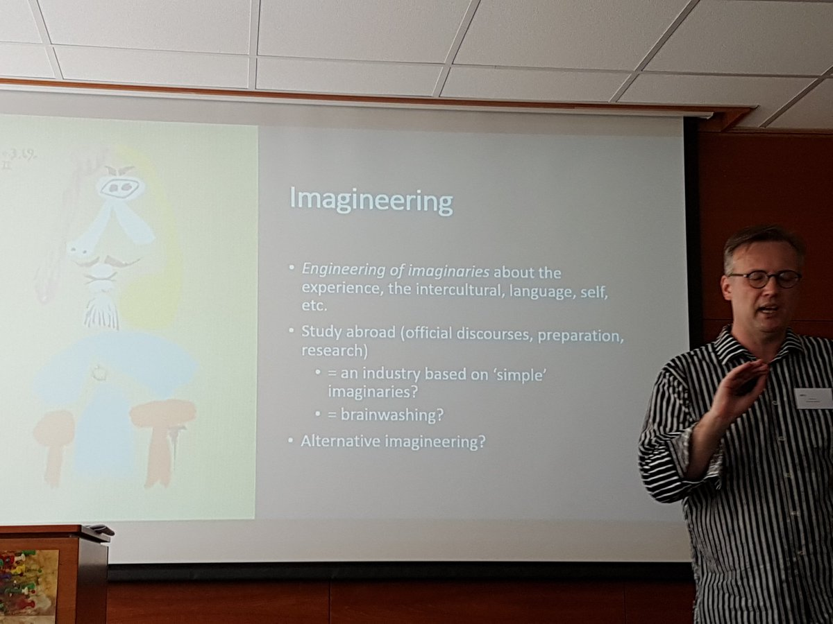 Dr Fred Dervin. Imagineering study abroad. #studyabroadconf