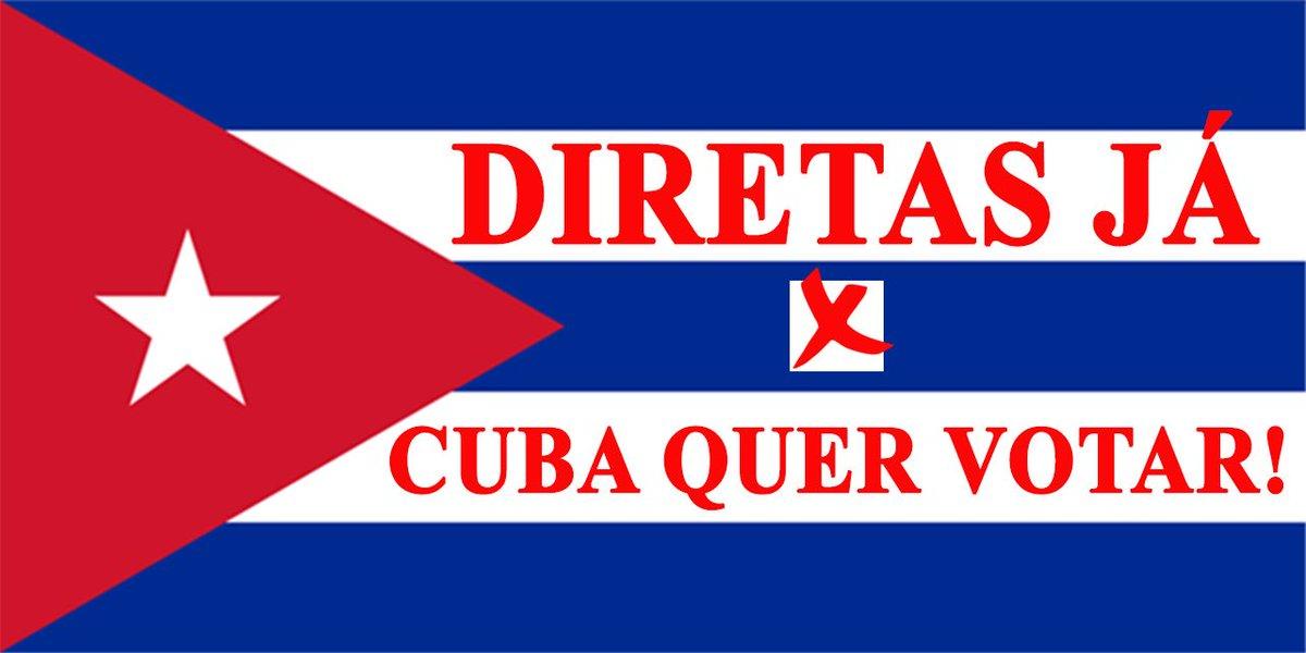 Amigo esquerdista, vc que está #xatiado com Trump hj, que quer Diretas no Brasil, coloque seu filtro de apoio à Cuba no seu perfil.👇