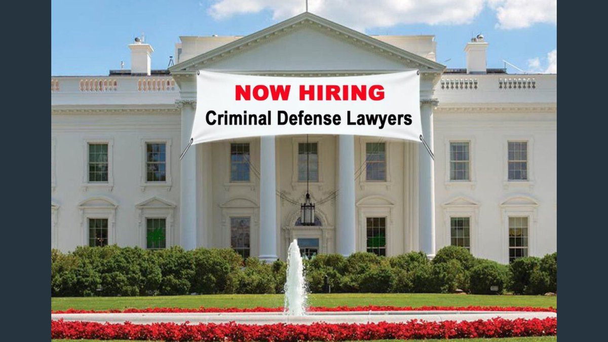 RT funder &quot;RT funder: Trump&#39;s creating jobs!  ...in D.C....for criminal defense lawyers...  #TrumpObstructed #Trum… <br>http://pic.twitter.com/huosvHG0WD&quot;