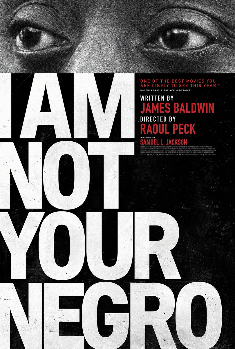"""For Amazon Prime subscribers, """"I Am Not Your Negro"""" is now streaming... Review: https://shadowandact.com/full-trailer-premiere-raoul-pecks-james-baldwin-film-i-am-not-your-negro-opens-february-3/…"""